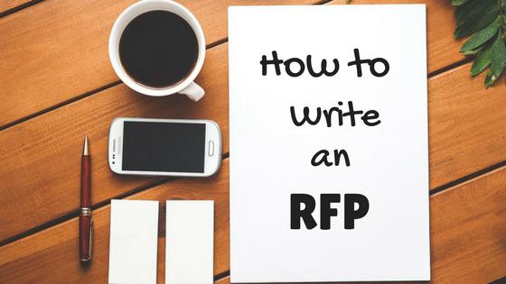 How to write an rfp